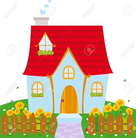 house drawing stock images royalty free images vectors little house clipart clipground