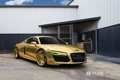 audi r8 gold pin gold audi r8 supercar spotted in moscow on
