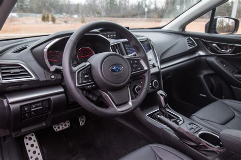 subaru wrx cvt interior review 2017 subaru impreza sport tech canadian auto review