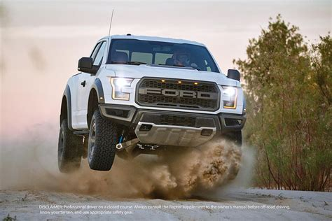 2017 Ford F 150 Raptor Touts Being The High
