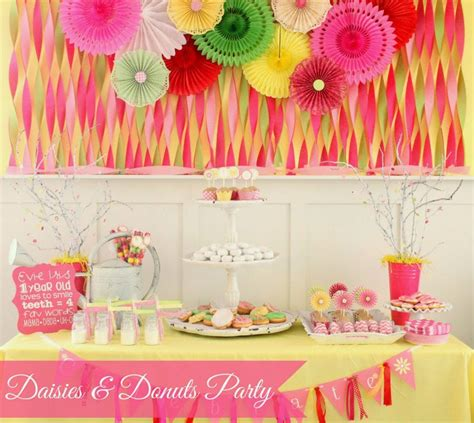 cute themes for birthday parties 34 creative girl first birthday party themes ideas my