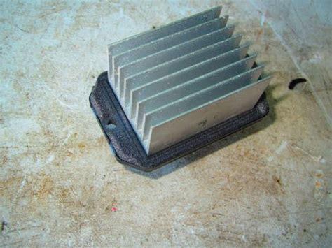 sell honda civic hybrid oem blower motor hvac resistor