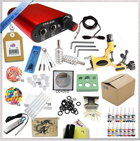 professional rotary tattoo kits professional complete mini rotary kit 2 guns
