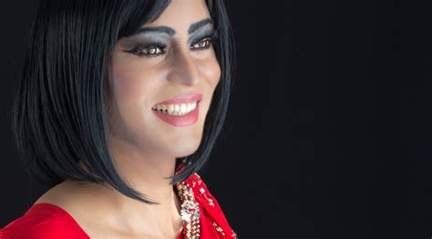 muslim drag queen britain s first muslim drag queen graces cover of national