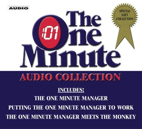 william morrow self leadership and the one minute the one minute audio collection by kenneth blanchard william jr oncken hermann oncken