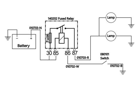 fog light relay switch wiring diagram wiring diagram