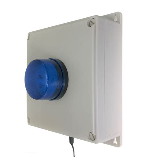 Alarm Buzzer 100 metre wireless panic alarm with buzzer led