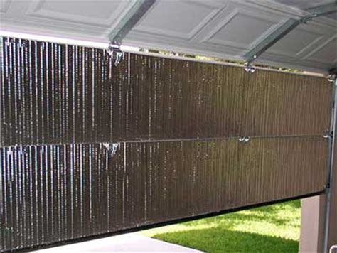 Garage Door Radiant Barrier Garage Door Insulation Easy Install Diy Garage Door