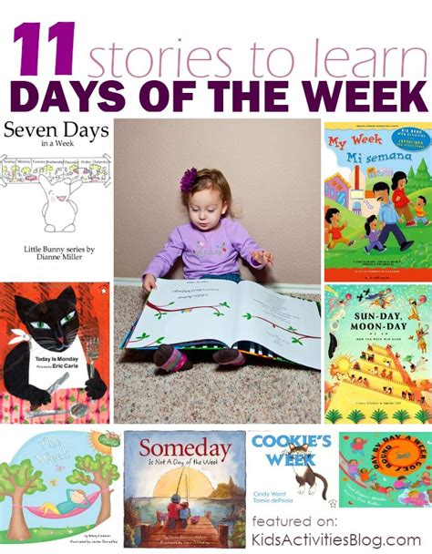 the days of my books friday read about the days of the week