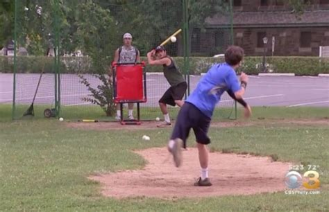 backyard wiffle ball game wiffle ball league a hit in ridley park