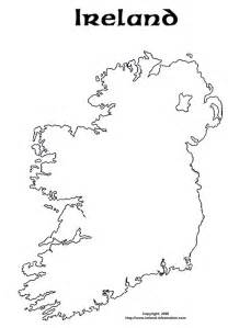 Ireland Blank Map by Blank Map Of Ireland Coloring Page Sketch Coloring Page