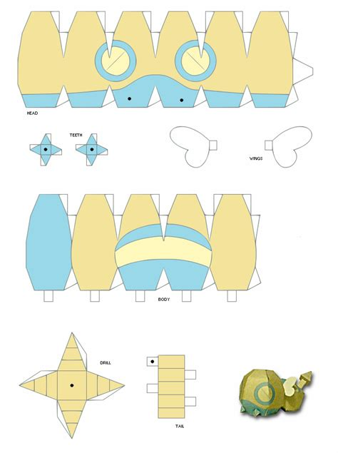 easy papercraft charizard template car interior