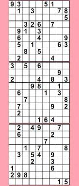 Printable Sudoku Sheets Sudoku Puzzles Printable