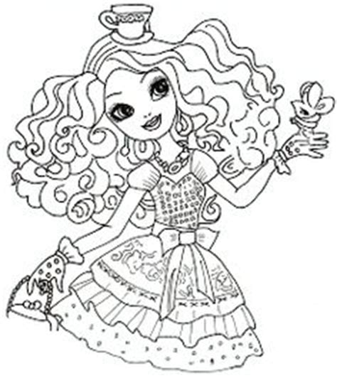 happily ever after high coloring pages ever after high on pinterest ever after high ravens and