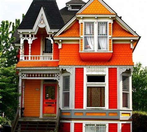 colors for houses orange houses exterior house colors