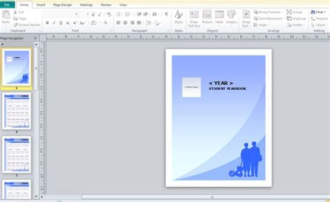 yearbook templates for word yearbook template for microsoft publisher powerpoint