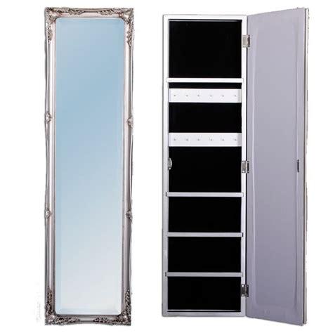 wandschrank rund schmuckschrank barock spiegel wandschrank silber beatrice