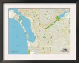 chula vista california map political map of chula vista ca prints at allposters
