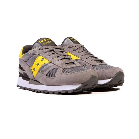 saucony shadow original grey yellow s shoes s2108