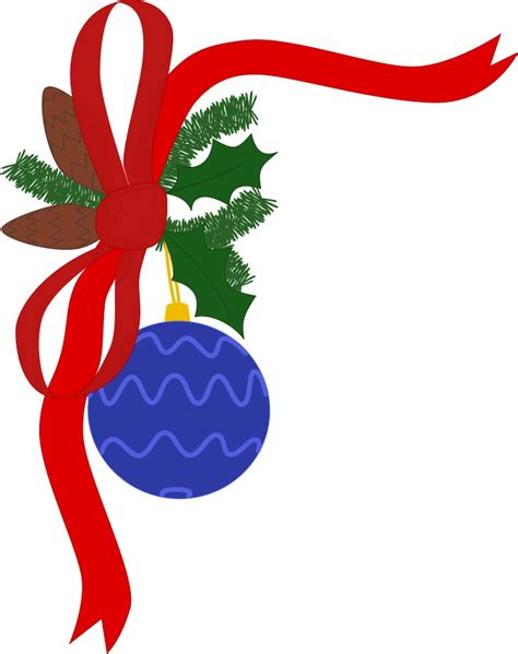 christmas decorations images clip art 67 free border clip cliparting