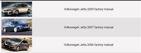 car maintenance manuals 2007 volkswagen jetta electronic throttle control volkswagen jetta repair manual 2005 2007 factory manual