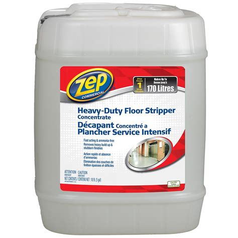Zep Heavy Duty Floor by Zep Commercial Heavy Duty Floor Concentrate 18 9 L The Home Depot Canada