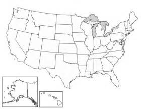 an empty us map blank united states map worksheet davezan