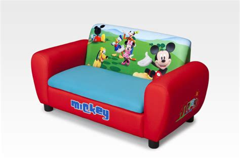 character furniture mickey mouse upholstered sofa