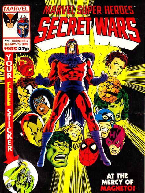 marvel super heroes secret wars a novel of marvel super heroes secret wars uk vol 1 3 marvel comics database