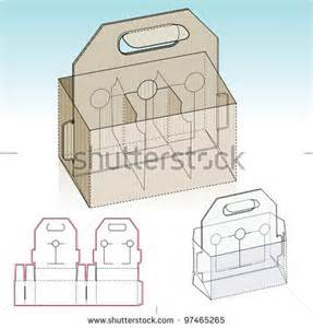 4 pack carrier template best photos of box template 4 pack carrier