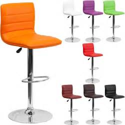 Colored Bar Stools Unique Modern Adjustable Height Metal Bar Stool Swivel