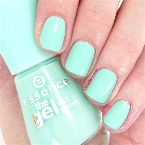 mint color nails essence quot play with my mint quot nail swatches and