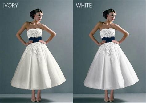 white or ivory ugh decisions weddingbee