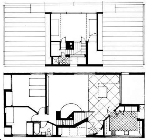 venturi house plan ad classics vanna venturi house robert venturi archdaily
