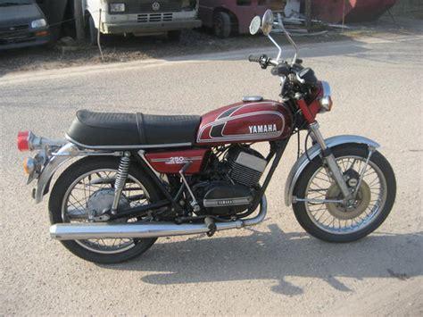 Windjammer Motorrad Verkleidung by Yamaha Rd 250 Erstzulassung 1 07 1975 Bis Auf Die Spiegel
