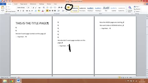 section breaks and page numbers technolgy blog how to use section break in ms word or to