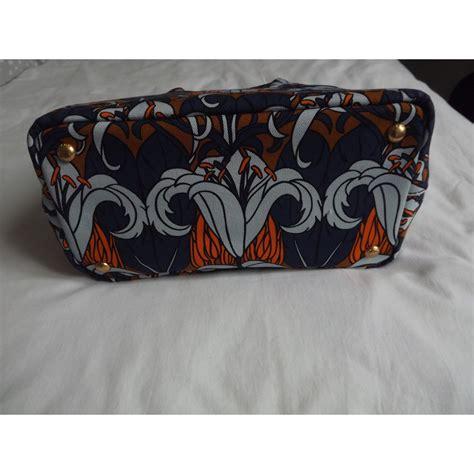 canapé marque sacs 224 prada mini canapa toile multicolore ref 17258