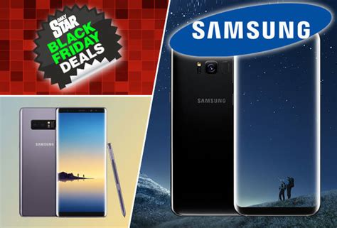 black friday 2017 samsung galaxy s8 note 8 apple iphone deals slashed but only today