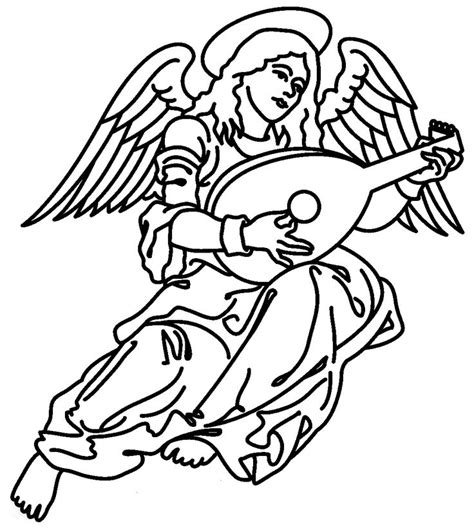 coloring pages of christmas symbols 21 best christmas angels images on pinterest