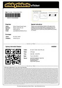 what does an e ticket and receipt look like customer
