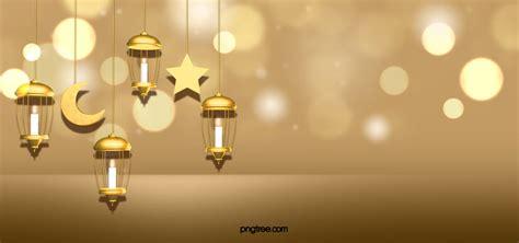 ramadan hanging lamp golden background ramadan
