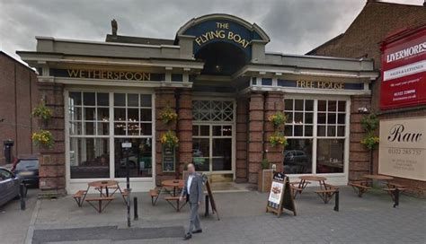flying boat in dartford the wetherspoons pubs in kent that police have been called