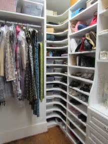 Wardrobe Storage Solutions Atlanta Closet Corner Shoe Shelves 01 Traditional