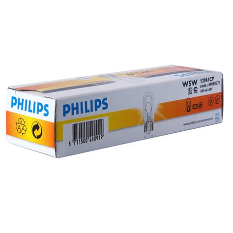 Lu Led Philips Paket philips dipsiz 12v 5w standart ul 10 lu paket fiyat