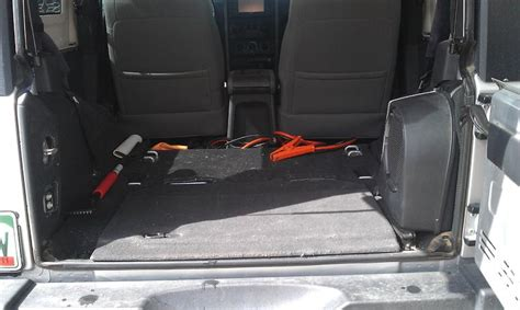 Jeep Wrangler No Back Seat Write Up Removing Backseat 2dr Page 2