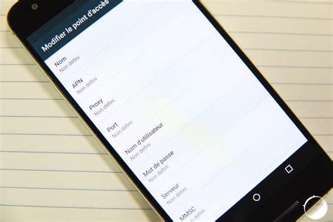 apn mobile tuto comment configurer l apn de mobile sur android