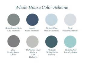 coordinating colors whole house color scheme martha stewart home depot