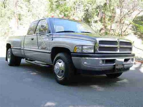 auto air conditioning repair 1997 dodge ram 3500 parking system sell used 1997 dodge ram 3500 12 valve cummins turbo diesel only 72k miles 5 speed dually in