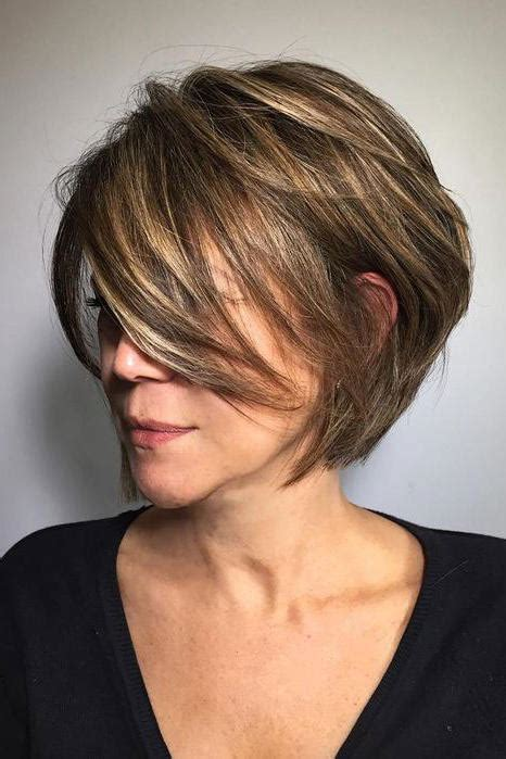 short bob hairstyles with height the best short haircuts for older women southern living