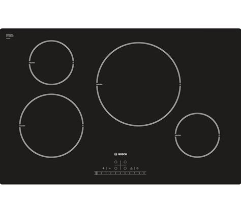 induction hob installation buy bosch serie 6 classixx pil811f17e induction hob black free delivery currys